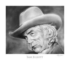 Sam Elliott by gregchapin