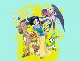 Snow White Pokemon team by Paigepig13