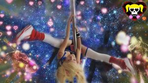 Juliet at Pole Dance - Lollipop Chainsaw - Cosplay by MishiroMirage