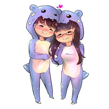 Onesies commission by CatandRice
