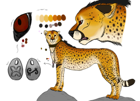 New Cheetah Character  by Wolfchick36