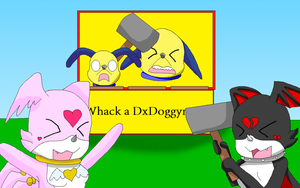 Whack A DxDoggymon XD by HeroHeart001