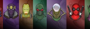 Masked Marvels by blacksmith7
