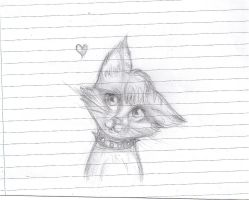 Kitteh sketch by Antalagon