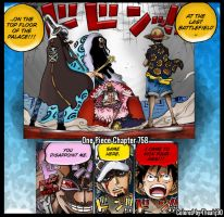 One Piece Chapter 758 Defeat the Evil by Theahj90
