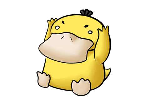 Psyduck by Hostcake