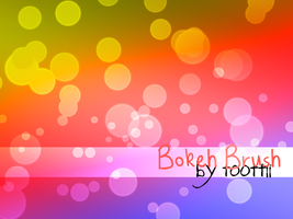 Bokeh Brushes by toottii