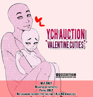 ||YCH AUCTION|| Valentine Cuties (CLOSED) by RoseGotham