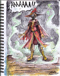 Rincewind the (not) demon by icelandicghost