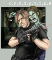 I love Resident Evil. by iluvu2