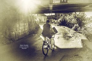 Bicyclist by Dzodan