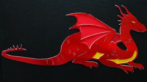 Dragon papercraft by Jane-Pr