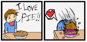 Pie by winger