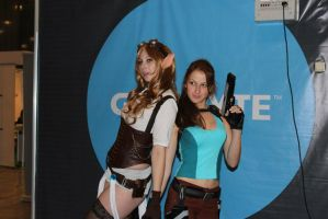 Lara and Janna (League of Legends) by LiSaCroft