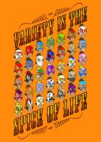 Variety is the spice of life by Obsolution