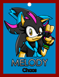 .:Gift:. Melody Conbadge by ARTic-Weather