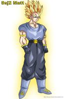 Super Saiyan 2  Matt by DragonballAF