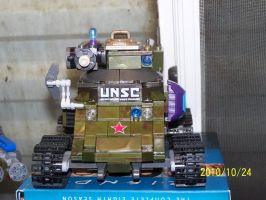 UNSC Bonaparte Raccoon Tank 11 by coonk9