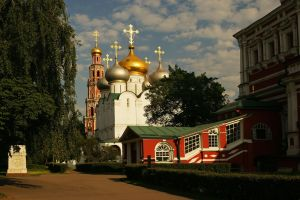 Moscow evening. June. Monastery. by Nickdan