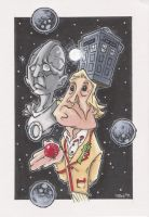 ANIMATED 5th DOCTOR by leagueof1