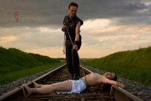 Helplessly bound by RopeArtistry