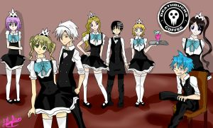 Soul Eater- Cafe by thenisaywhat