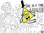 Bill Cipher fangirls by kittyGLaD