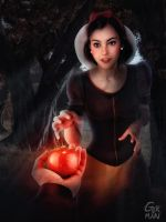snow white by gerbenher