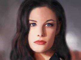 Liv Tyler- graphicks by Elfik777