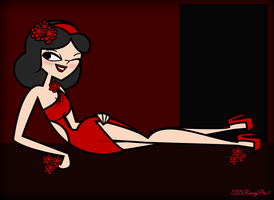 TDPI Seven Deadly Sins-Ella as Lust by Galactic-Red-Beauty