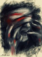 Scream from SYRIA by Delawer-Omar