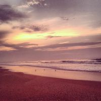 Dawn by the Ocean by kristineL13