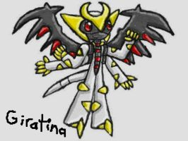 Mobian Giratina by SurgeCraft