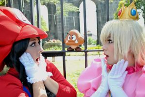 Mario and Peach III by RaquelQuiros