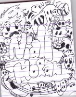 niall horan in doodle by jaimie07