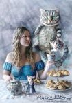 Tea-party in Wonderland by mary-petroff