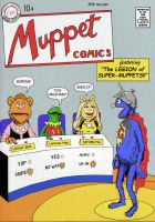 TLIID 259 Muppets Show - Legion of Super Heroes by Nick-Perks