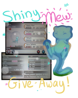 Shiny Mew Giveaway! -WINNER- by Pika-Pika-Pikahu