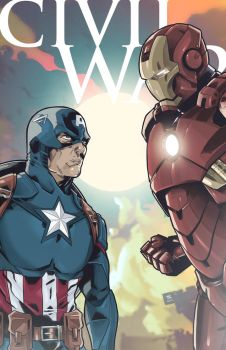 Civil War by LudoDRodriguez
