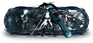Black Rock Shooter by iPauloDesigner
