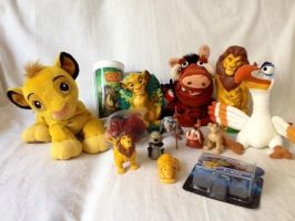 My New Lion King Stuff! by KatieTheEpic