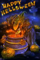 Helloween Card by Dreamisover