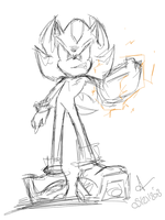 Shadow The Hedgehog -  Just So STUPID For Me - by my-love-silver