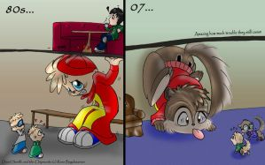 Funny... we blew up Alvin XD by KicsterAsh