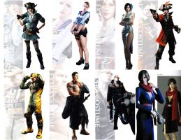Resident Evil 6 Extra Costume by stalkersdxx