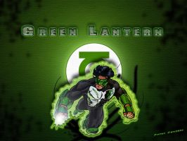 Green Lanter power by PsykoPhoenix