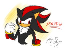 Quicky quick Shadow sketch by AR-ameth