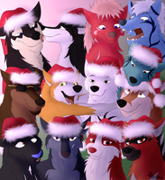 Merry Christmas! (From the Whole Gang) by gangstaguru