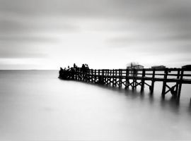 the white pier by luct-angga