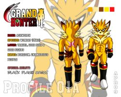 GRAND HUNTER Bio 01A: Ashworth by darkspeeds
